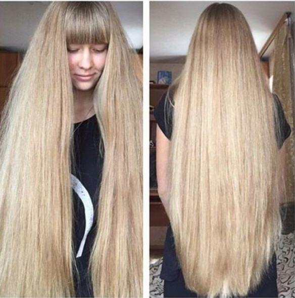 Haarwachstum pony