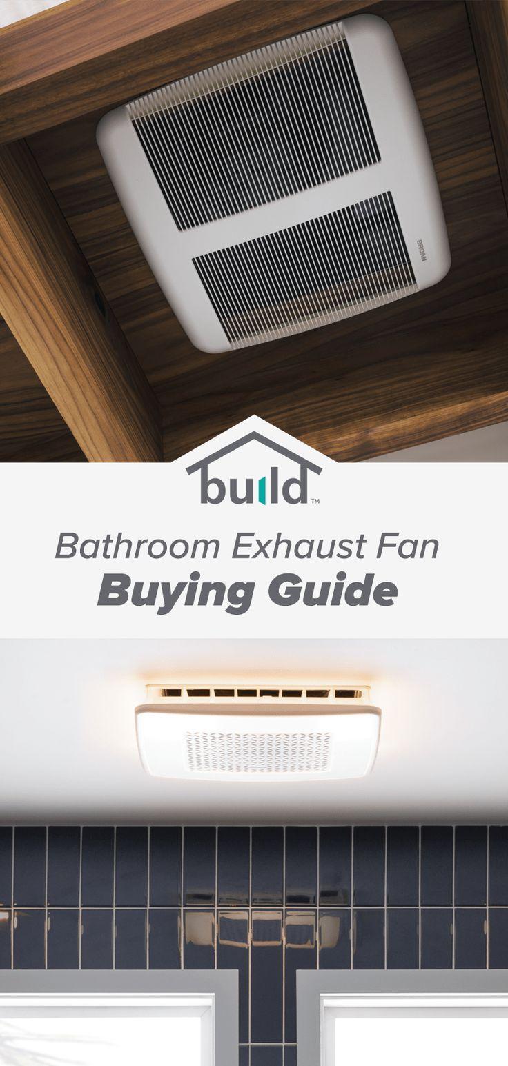 Bathroom Exhaust Fan Buying Guide in 2020 Bathroom