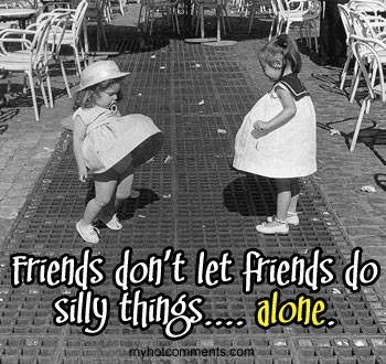 :) @Amber Trejo this reminds me of us as kids :) haha