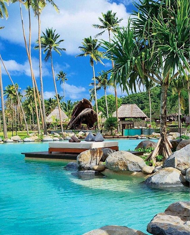 Sundays in Fiji! #luxuryvacations #fiji #laucalaisland