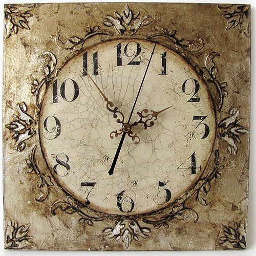 25 best ideas about vintage clocks on pinterest clocks big clocks and wall clocks - Antique clock designs for your home ...