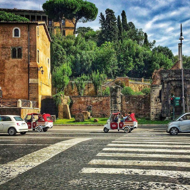 São diversos tipos de tours oferecidos aqui em Roma! Desde vespa carro antigo segway bicicleta free walking tour carrinhos de golfe etc etc E esses carrinhos não são fofinhos? . Lembre-se que nós fazemos o seu roteiro personalizado em Roma organizamos o seu transfer do/para o aeroporto e também sua hospedagem! info@emroma.com . Veja mais no Snapchat Em_Roma #Roma #europe #instatravel #eurotrip #italia #italy #rome #trip #travelling #snapchat #emroma #viagem #dicas #ferias #dicasdeviagem…