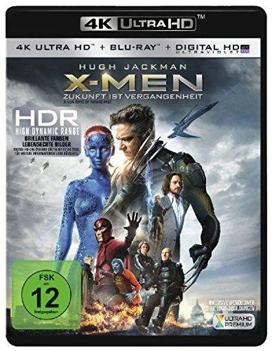 X-Men: Zukunft ist Vergangenheit - Ultra HD Blu-ray [4k + Blu-ray Disc]