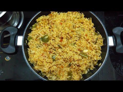 Vangi Bhaat -- Spice Brinjal Rice Recipe