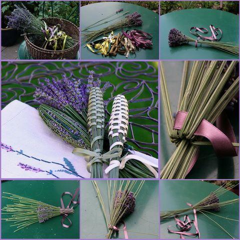 FUSEAU DE LAVANDE lavender wand tutorial