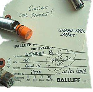tags Damaged sensors? Balluff Sensor Recovery program to find best alternatives, solve downtime and maximize production.