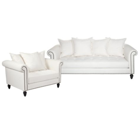 Chic Combo Oscar Sofa U0026 Chair 1/2. $1,953.30 #zgallerie