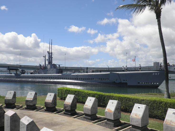 USS Bowfin (SS/AGSS-287), a Balao-class submarine, was a boat of the United States Navy named for the Bowfin. Since 1981, she has been open to public tours at the USS Bowfin Submarine Museum and Park in Pearl Harbor, Hawai'i, next to the USS Arizona Memorial Visitor Center.