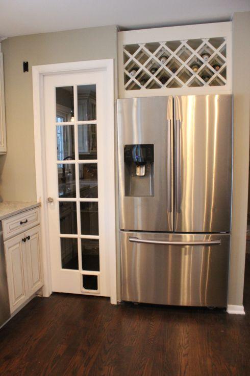 411f5f346c52bc0ad4cd1c18f6fc3b5c--diy-kitchen-room-kitchen Shelving Above Fridge Kitchen Ideas on windows above fridge, lighting above fridge, cabinets above fridge, baskets above fridge,