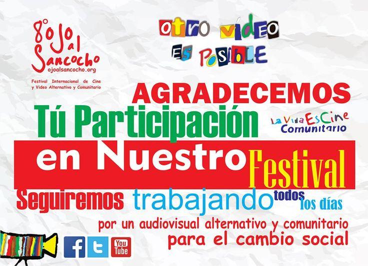 El festival de cine alternativo y comunitario conocido nacionalmente e internacionalmente.