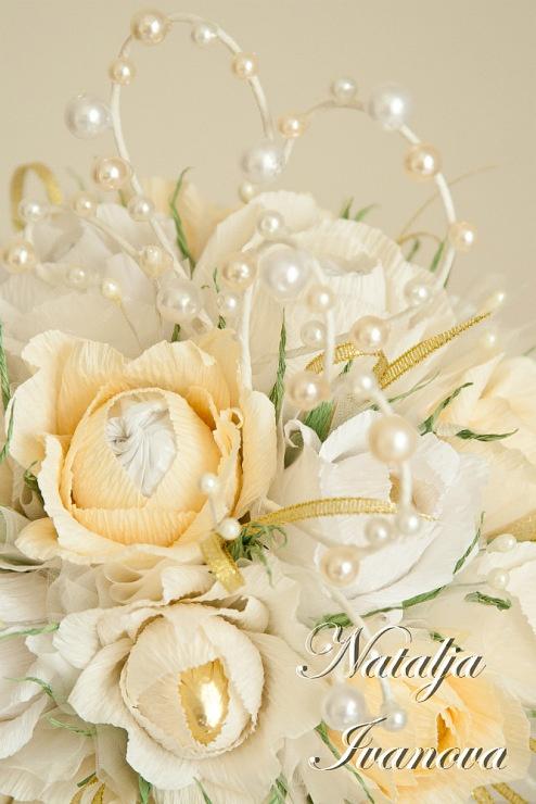 sweet wedding bouquet by NATALJA IVANOVA (forsteriana)