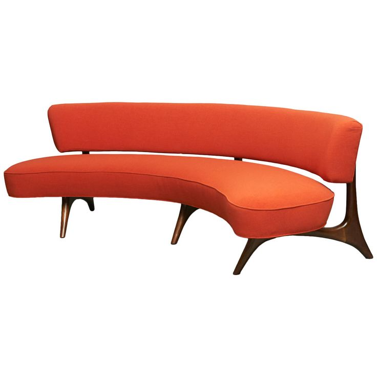 Curved Floating Sofa: 164 Best Vladimir Kagan Images On Pinterest