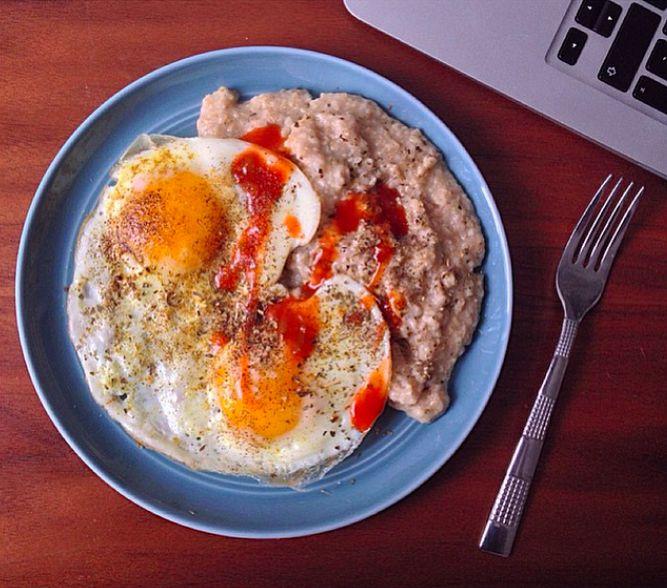 Le porridge salé - La recette la plus facile du monde !