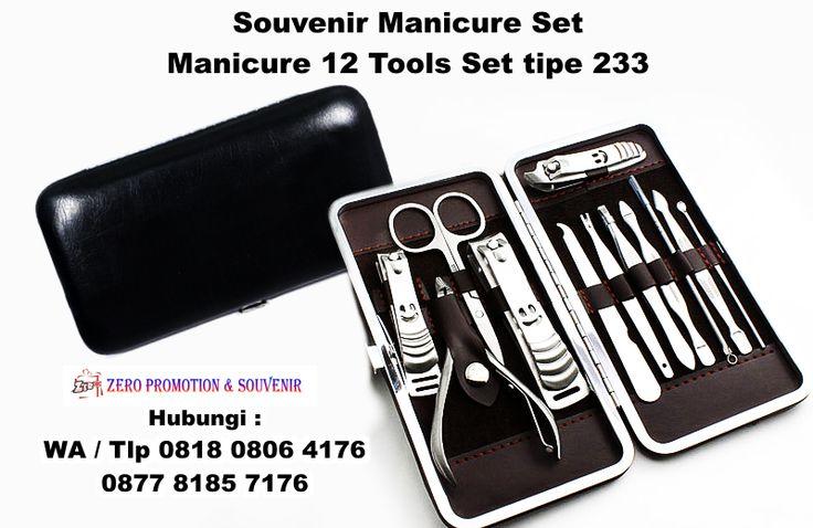 Jual Souvenir Manicure Set - Manicure 12 Tools Set tipe 233