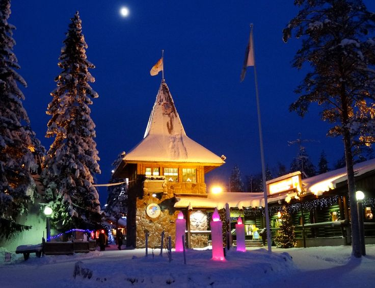 Santa Claus Main Post Office is located in the Arctic Circle Finland. You can write Santa a letter to this address:  Santa Claus Main Post Office,  96930 Arctic Circle Santa and his elves reply to all letters!