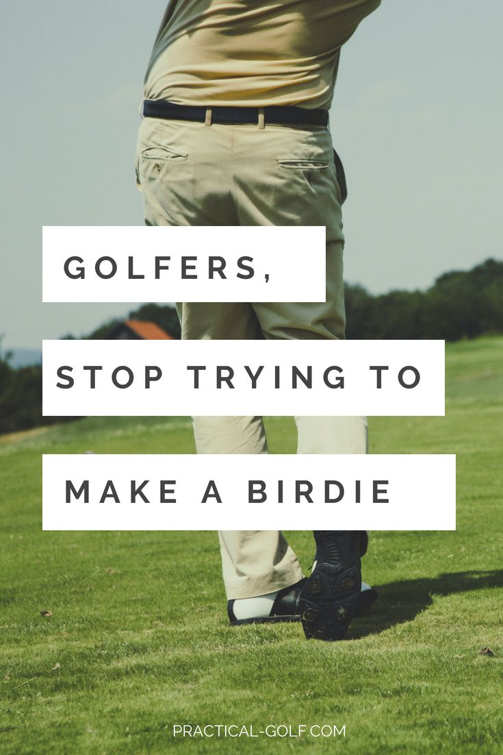 Birdie Golf The Truth That Every Golfer Needs To Accept Golf Swing Golf Training Best Golf Courses