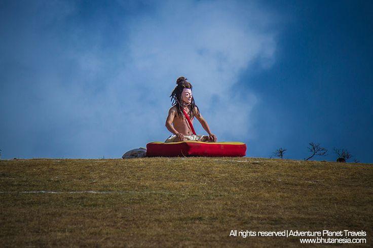 The prominent showcase of Tibetan Yogi dance. www.bhutanesia.com