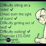 how i feel right now...HATE LEG DAY!!!! | Funny Stuff ...