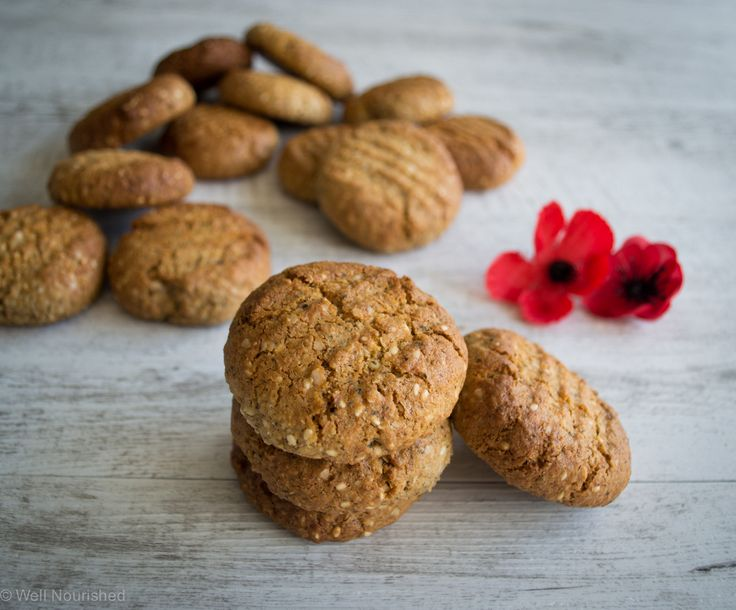 Gluten-free, grain-free ANZAC Biscuit recipe - super nourishing