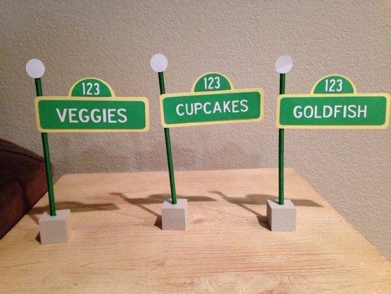 6 Sesame Street Food Labels by TheTinyToppery on Etsy, $15.00