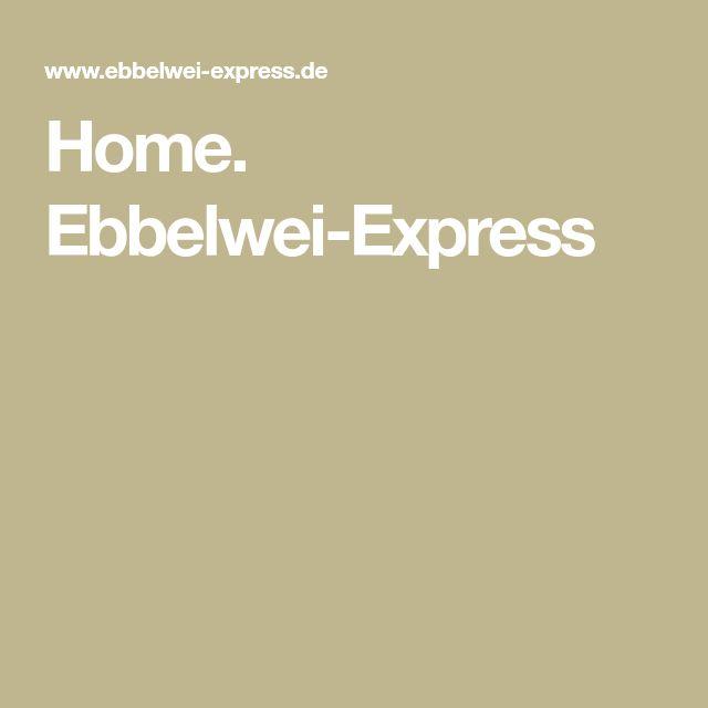 Home. Ebbelwei-Express