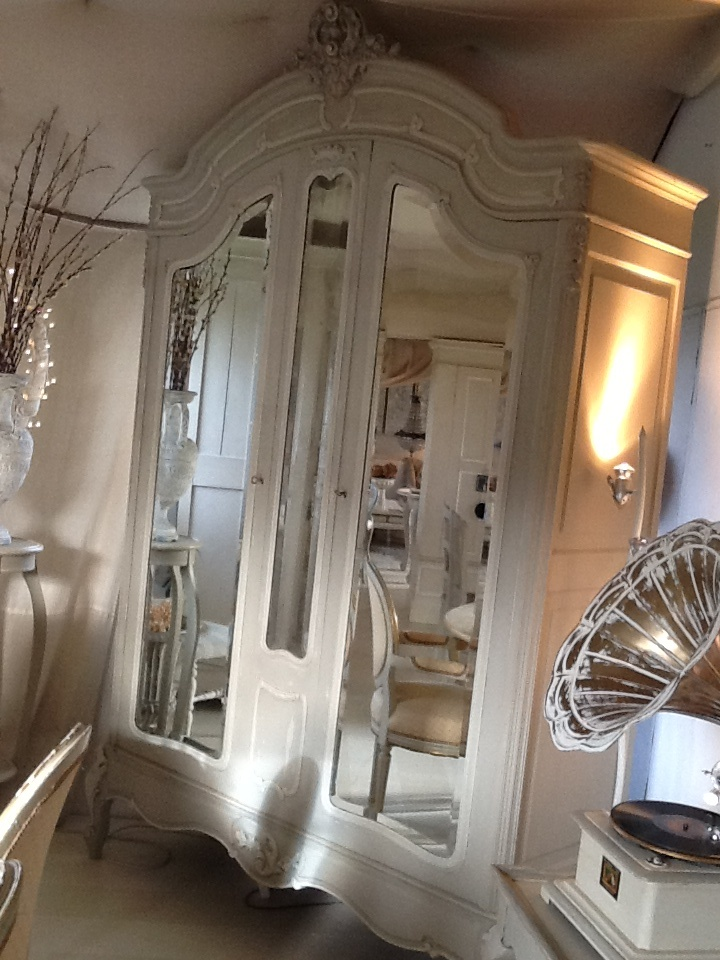 Beautiful French Armoire painted by Maite Alegre www.maitealegre.co.uk