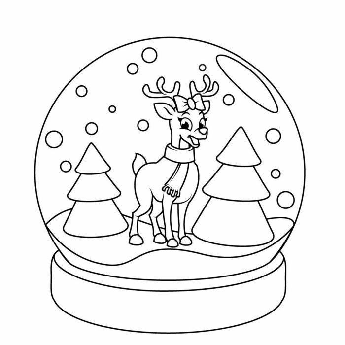 Ideas De Dibujos Para Navidad.1001 Ideas De Dibujos Navidenos Para Colorear Cuidar