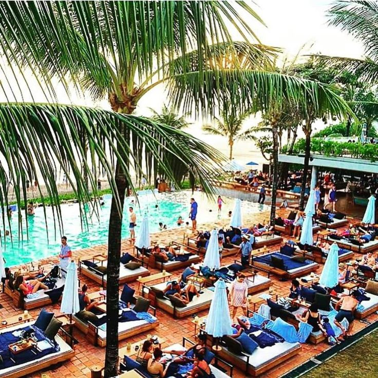 Potato Head Beach Club Seminyak Bali. Great place to chill out with good music…