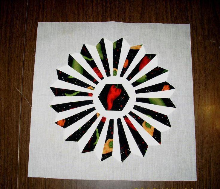 3d dresden plate quilt pattern - Google Search