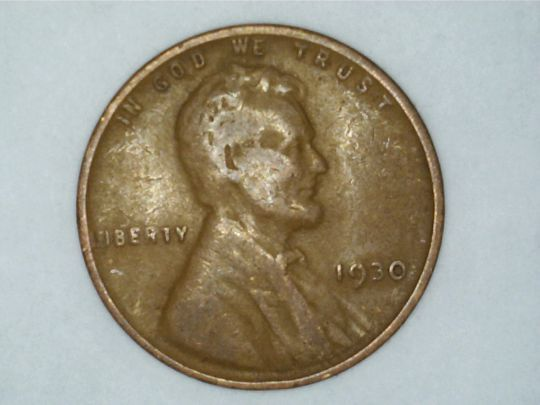 1930 P Lincoln Wheat Penny 1C BN Circulated Ungraded Business, Philadelphia