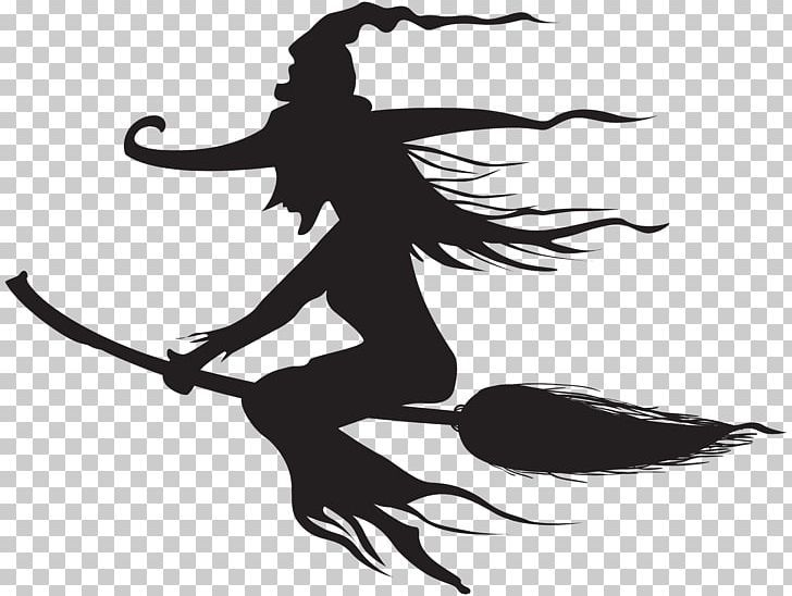 Witchcraft Halloween Silhouette Png Art Black And White Clip Art Clipart Computer Wallpaper Witch Silhouette Halloween Silhouettes Silhouette Png