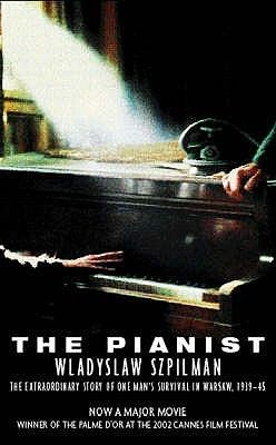 The Pianist by Andrzej Szpilman. A biography telling the story of a young Polish concert pianist and his experiences during the war. Found in the non-fiction section 940.53.