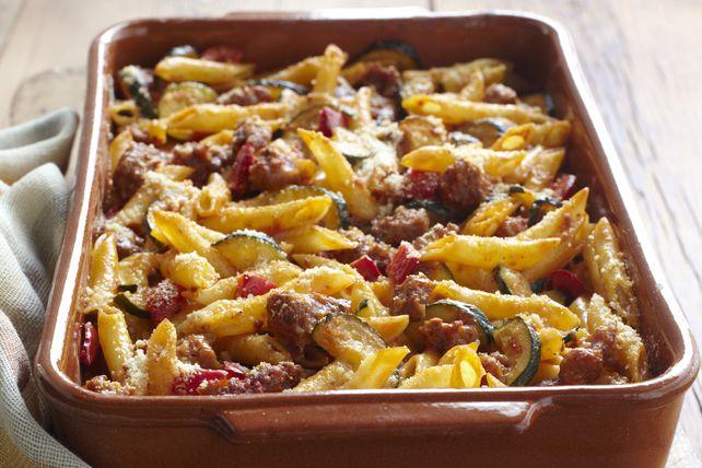 Ce plat peut être cuisiné à l'avance. Il suffit de le couvrir et de le réfrigérer jusqu'à ce que vous soyez prêt à le faire cuire.