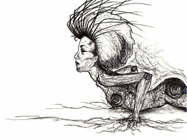 Frica de a fi târâtoare - Le mage | Poezii și declarații de dragoste pentru el și pentru ea | Poezie pentru toți *Motto: În adâncul nostru e mereu 3 dimineața