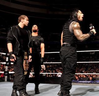 SmackDown 1/10/14: CM Punk & The New Age Outlaws vs. The Shield