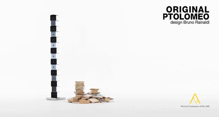 Libreria Ptolomeo by Bruno Rainaldi per Opinion Ciatti