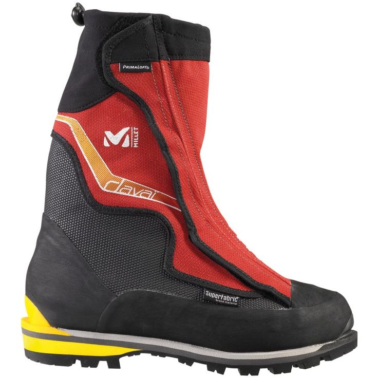 When you want to tackle the world's toughest climbs in some of the world's toughest regions, you need a boot that has been specifically built for the task, such as the men's Davai Mountaineering Boot from Millet. A PTFE membrane combines with a built-in gaiter to help keep moisture and snow outside. The Cordura and Superfabric uppers are extremely durable and abrasion-resistant, so you don't have to worry about what your boots are doing while you're struggling to place you...