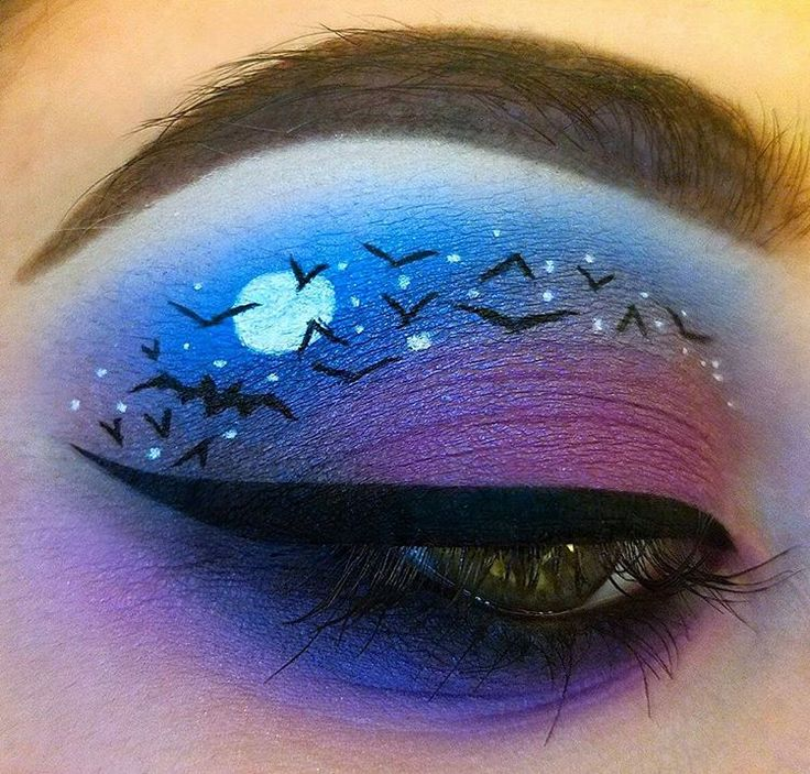 The 25 best bat makeup ideas on pinterest bat halloween - Fledermaus schminken ...