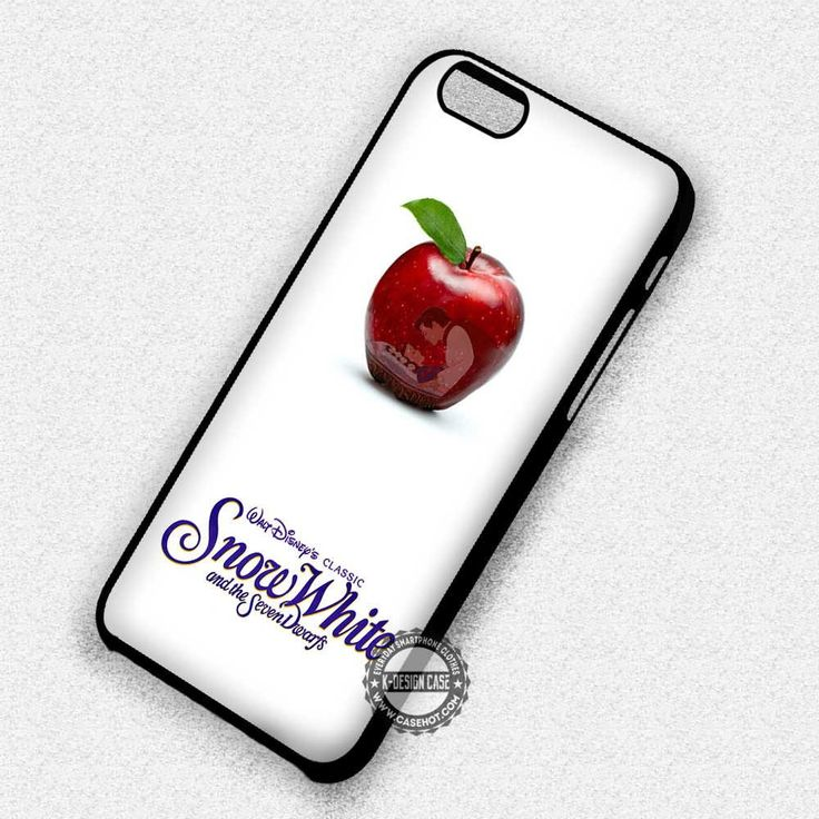 Snow White Logo and Apple - iPhone 7 Plus 7 6S SE Cases & Covers