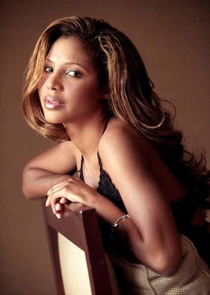 Toni Braxton: she's got a deeper voice like I do.