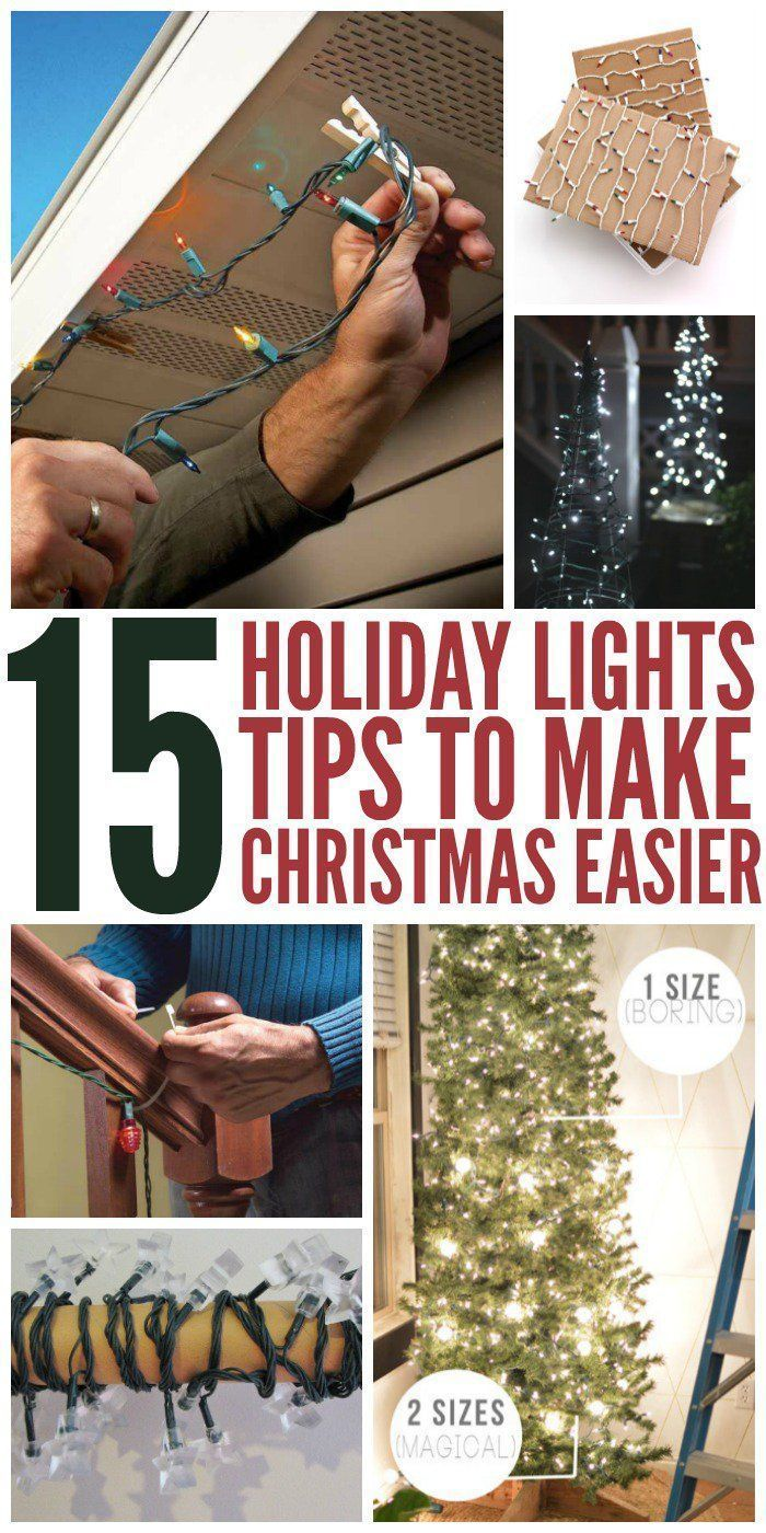 Who doesn't love the look of Christmas lights? Unfortunately, getting them up can be a real pain. But maybe it doesn't have to be. Here is list of tips and tricks for hanging holiday lights that could save you countless house and remove the stress, leavin