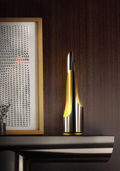 Coltrane table lamp by @Delightfull Unique Lamps http://www.delightfull.eu/en/heritage/table/coltrane-sideboard-lamp.php
