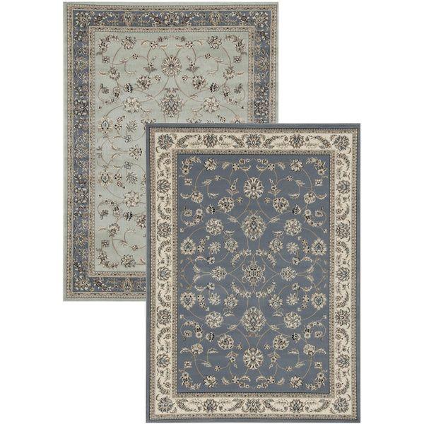 Admire home living artisan flora area rug 7 39 9 x 11 39 by for 10x14 living room design