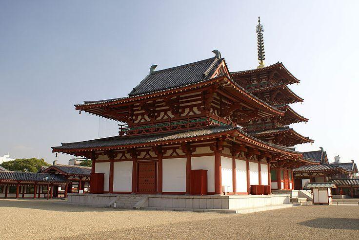 Shitennō-ji is a Buddhist temple in Osaka, Japan. Prince ...