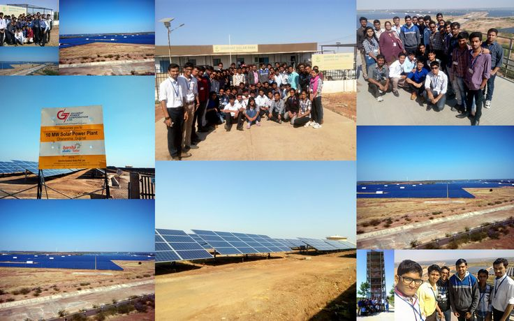 Industrial Visit of 6th EE ‪#‎GIT‬ Students at Asia's largest Solar Power Plant, Solar park, Charanka, Gujarat Students of 6th Electrical ‪#‎Engineering‬ had visited ‪#‎SolarPark‬, Charanka (Patan). It is Asia's largest Solar Power Plant where students learn about Power Generation, Power Synchronization with Grid and working of Inverter and ‪#‎Solar‬ Control Panels.