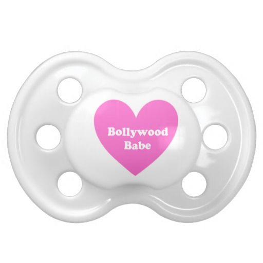 Bollywood Girl Baby Pacifier