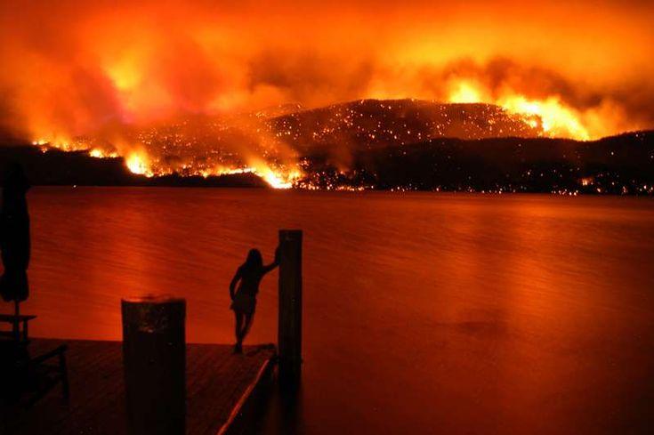 Forest Fire: Okanagen Mountain, British Columbia