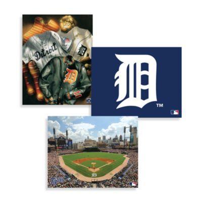 MLB Detroit Tigers Canvas Wall Art - BedBathandBeyond.com