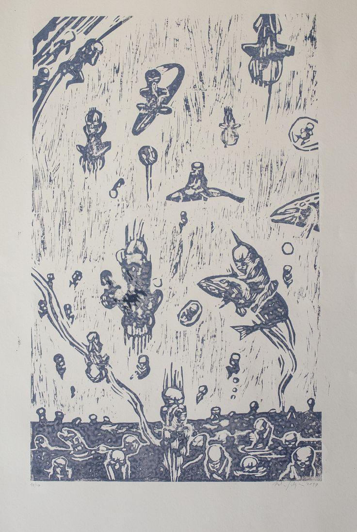 Martin Salajka // Dušičky -> new artwork available on www.artbanana.com