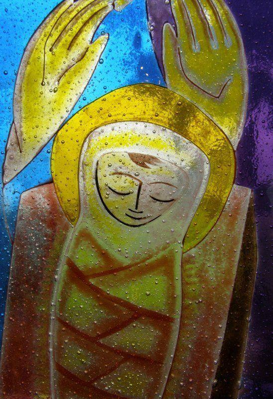 Detail - Michaelmas Term Window - Abingdon School - Nicholas Mynheer